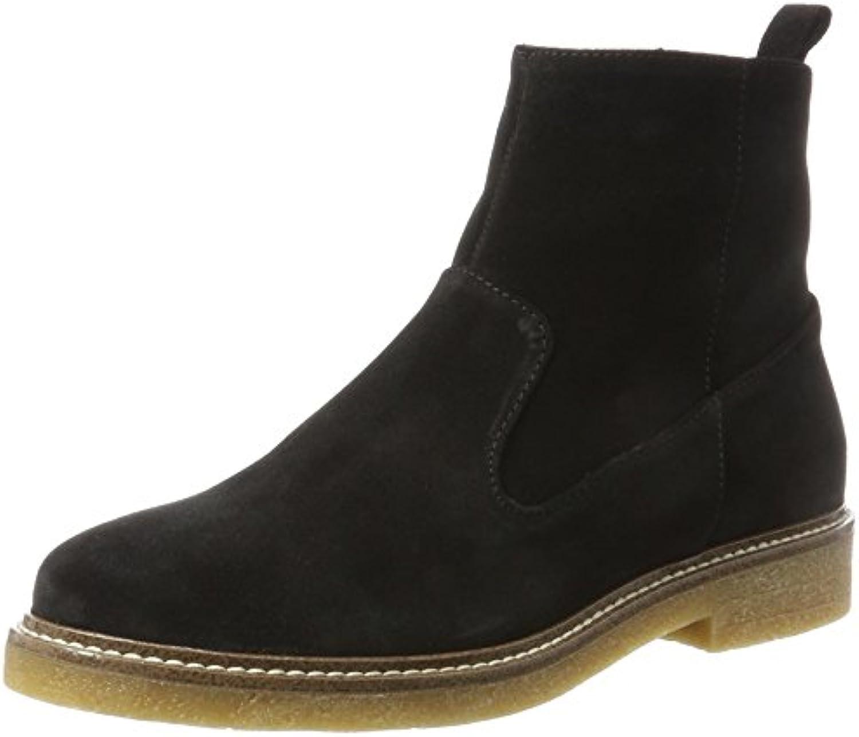 Bianco Wildleder Boots, Botas Chelsea para Mujer
