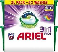 Ariel Laundry Detergent 3 In 1 Pods - 52 pods (Colour)