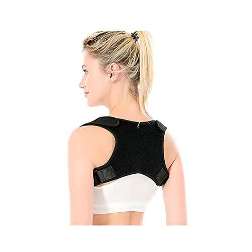 FUGEGE Rückentrainer Rückenstütze Schultergurt Haltungstrainer Posture Correcto Damen Herren Einstellbar Rückentrainer Rückenstütze Gegen Nacken Schulterschmerzen
