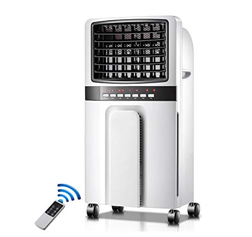 LuftküHler Mit WasserküHlung • Lufterfrischer • LüFter • Ionisator • 3 Leistungsstufen • 400 M³ / H Luftstrom • Fernbedienung • Timer • 65 W • 8 L Wassertank •