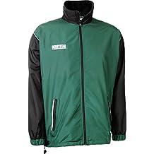 Derbystar Präsentationsjacke Primera - Prenda para hombre, color verde/negro, talla 14 años (162 cm)