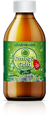 Alkaline Care Omega oil 3-6-9 gold Essential Unique Blend Of Sacha Inchi Seeds, Borage Blackcurrant Supplements Mixture Of Vegetable Essential Oils