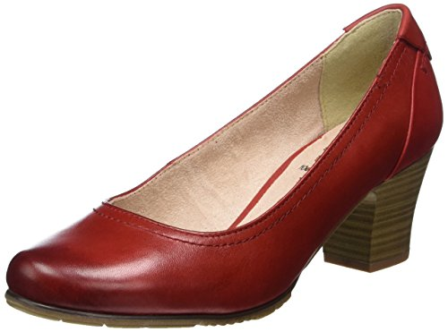 Jana Damen 22404 Pumps, Rot (Chili 533), 40.5 EU (7 UK)