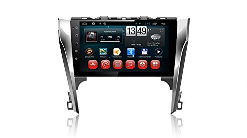 Gowe Android Full Touch 25,7cm Big Screen GPS Navigation für Toyota Camry 2012–2015mit BT/ATV/3G/WIFI/SWC/iPod/RDS/Canbus/Mirrorlink (Gps Für Camry 2014)