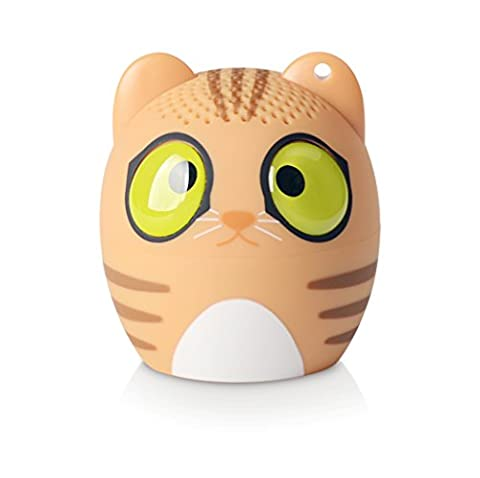 Veetop - Mini Music Pet Bluetooth Wireless Speaker Portable Rechargeable - CAT