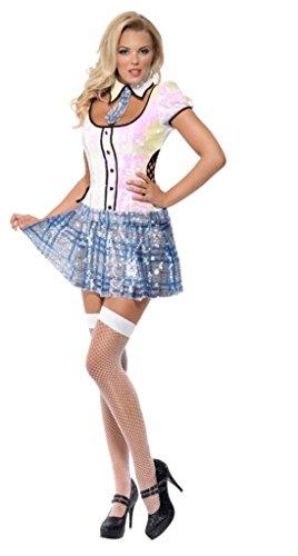 Smiffys fever school girl bling costume