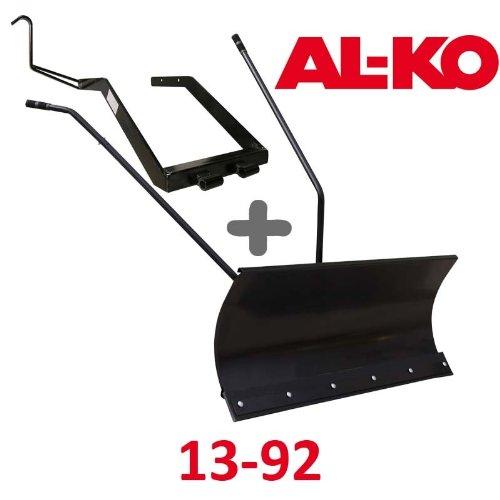 Lame à Neige 118 cm Noire + adaptateur pour AL-KO 13-92