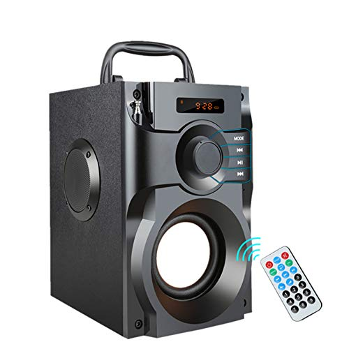 Fay Fernbedienung Bluetooth-Lautsprecher Tower-Lautsprecher High Power Wireless Stereo Subwoofer-Lautsprecher für PC, Laptop, Tablet, Mobile