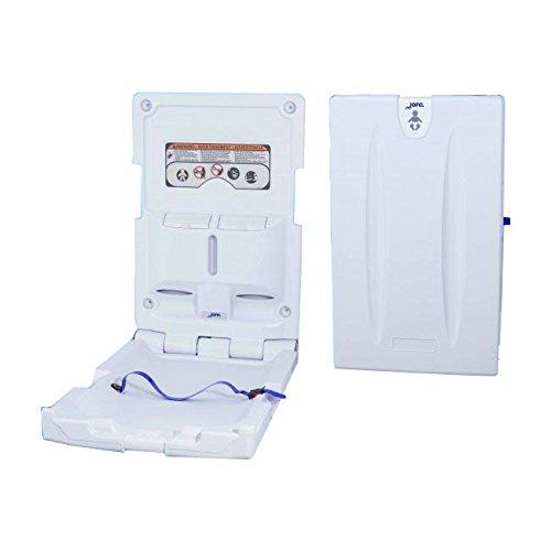 Toilettenpapierhalter Großrollen Jofel ay11000wechseln aufrecht, HDPE antibakteriell, weiß