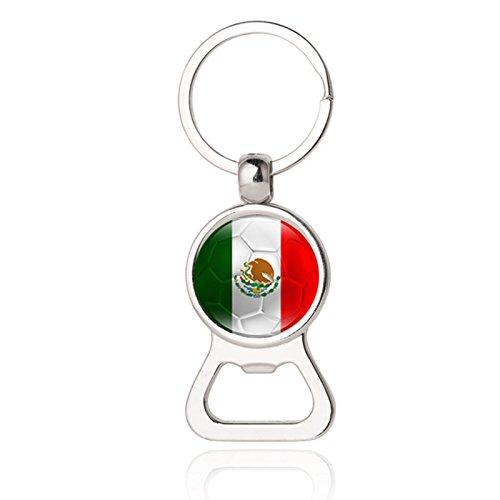Mini Bierflaschenöffner Schlüsselanhänger für Herren, Modeschmuck 29# Mexiko