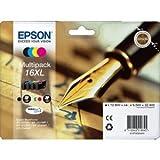 Epson 16x l cartouche jet d'encre Multipack Pen & Mots croisés Noir/cyan/magenta/jaune Ref T16364010Lot 4102112