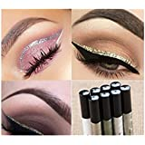 ILOVEDIY Glitter Paillette Yeux Eyeliner Liquide Waterproof Eyeshadow - 8 Couleurs à Choisir