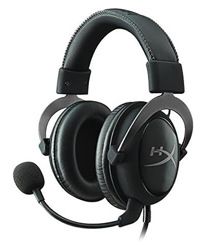 HyperX Cloud II Casque Gaming pour PC/PS4/Mac/Mobile - Métallique (Reconditionné Certifié)