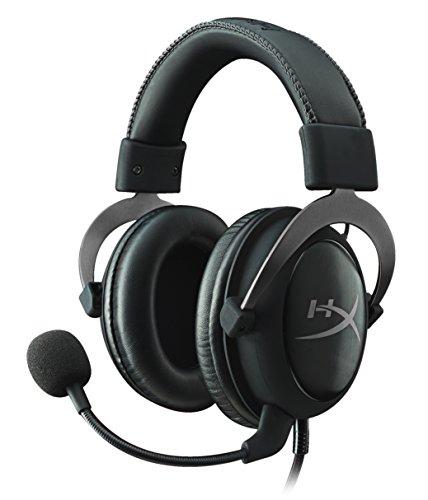 HyperX Cloud II Cuffie Gaming per PC/PS4/Mac/Mobile, Canna di Fucile (Ricondizionato Certificato) - Gunmetal Scheda
