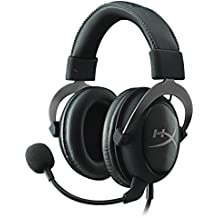 HyperX Cloud II - Auriculares para Gaming PC/PS4/Mac/Mobile, Color metálico - (Reacondicionado Certificado)
