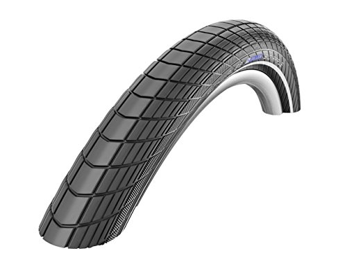 Schwalbe Big Apple Performance Line Lite Skin Race Guard Endurance Wired Tyre - Reflex Black, 18 x 2.0 Inch