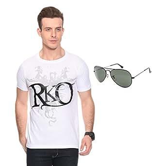 Mall4all randy orton RKO t shirts With Sunglass Size : 44