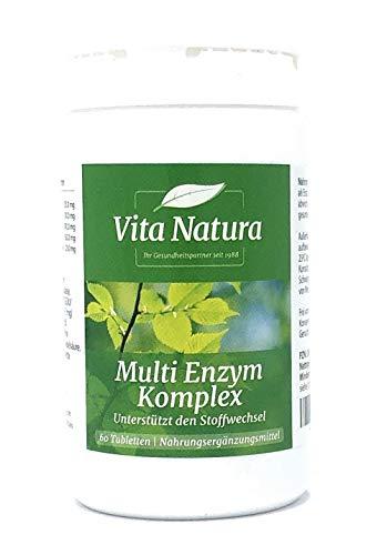 Vita Natura MULTI ENZYM KOMPLEX 60 Tabletten -