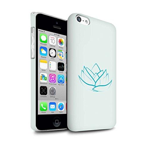 Clipser Matte Coque de Stuff4 / Coque pour Apple iPhone 4/4S / Bouddha de Pierre Design / Paix Intérieure Collection Lis/Fortune/Foi
