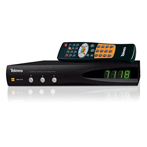 Televes Preisner RSD7118 Satelliten-Receiver (DVB-S, SCART, 25 Watt) -