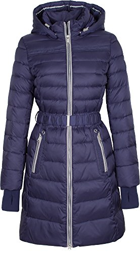 SICB-V306 Damen Winterjacke Mantel in Daunen-Optik