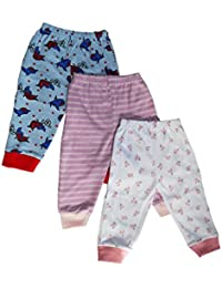 NammaBaby Leggings Ribbed Pajamas for New Born - Set of 3 (9-12 Months)