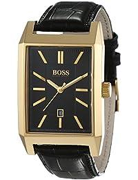 Hugo Boss Herren-Armbanduhr Analog Quarz Leder 1513076