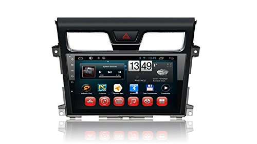 Gowe Android Full Touch 25,7cm Big Screen GPS Navigation für Nissan Teana 2013mit Bluetooth/RDS/3G/WIFI/SWC/iPod/Canbus/Mirrorlink Nissan Ipod