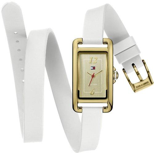 Tommy Hilfiger - 1781222 - Montre Femme - Quartz Analogique - Cadran - Bracelet Silicone Blanc