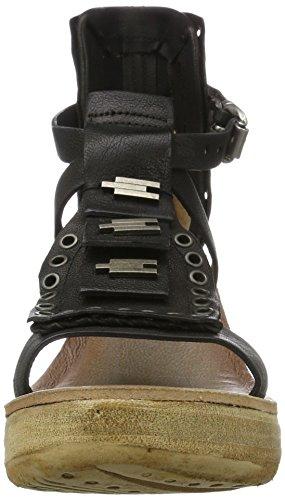 A.S.98 - Noa, Scarpe con cinturino Donna Nero (Nero)