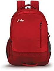Skybags Bingo Extra 02 32 Ltrs Red Casual Backpack (Bingo Extra 02)