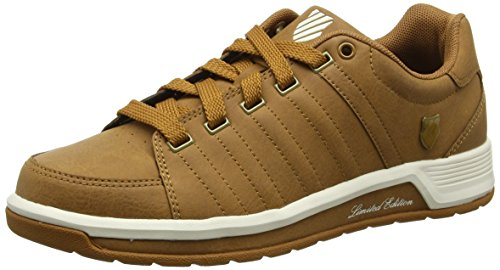 k-swiss-berlo-ii-s-mens-low-top-sneakers-brown-cathy-spice-whisper-white-95-uk-44-eu