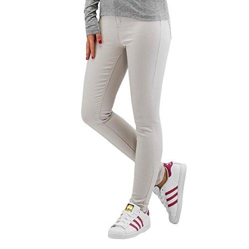 Only Damen Jeans / Skinny Jeans stuStudio Skin Ankle Color Grau