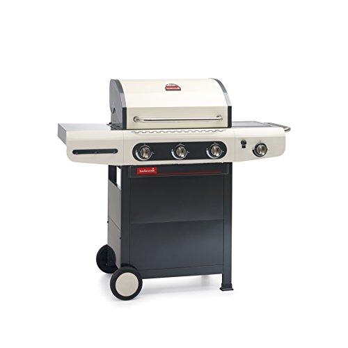 barbecook Gasgrill, Siesta 310, schwarz / creme, 80 x 76 x 52,6 cm, 2239231210
