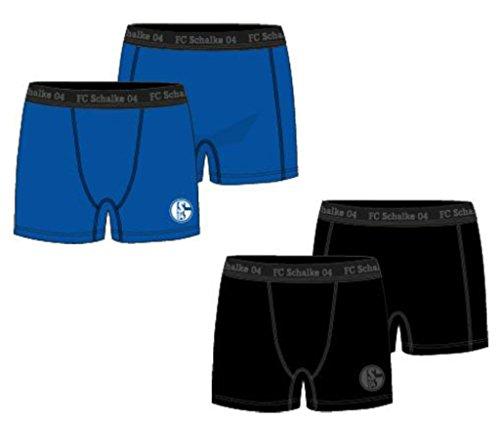 FC Schalke 04 Herren Boxer 2er Pack Gr. 7 -
