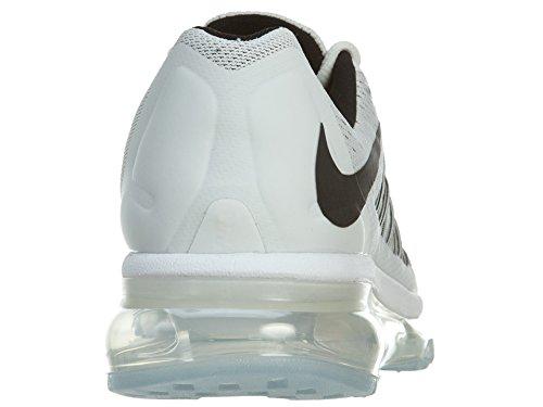 Nike Wmns Air Max 2015, Scarpe sportive, Donna White/Black