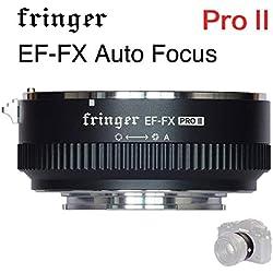 EF-FX PRO Auto Focus Mount Adapter Built-in Electronic Aperture for Canon EOS Tamron Sigma Lens to Fujifilm FX Mirroless Camera X-T3 XH1 X-E3 XT20 X-Pro2 X-T2 X-A X-E1 X-M1 XT1 XPRO2