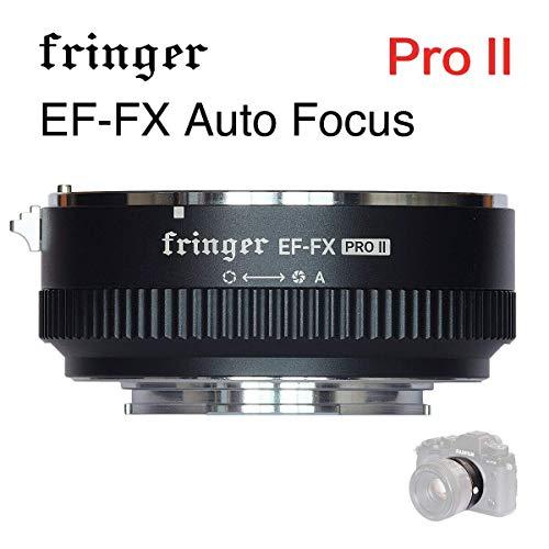 Canon Auto-adapter (EF-fx Pro Version Autofokus Mount Adapter integrierte Elektronische Blende für Canon EF EOS Tamron Sigma Objektiv zu Fujifilm FX mirroless Kamera x-e3XT20x-pro2x-t2x-a X-E1X-M1XT1xpro2)