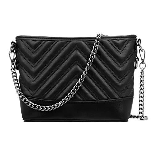 Designer Handtaschen Billig - CRAZYCHIIC - Damen Kette Umhängetasche -