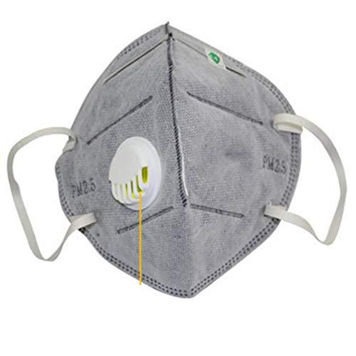 máscaras de protección Leoboone PM 2.5 El carbón activado anti-niebla y la bruma para hombres y mujeres de la salud y productos de belleza para el cuidado personal