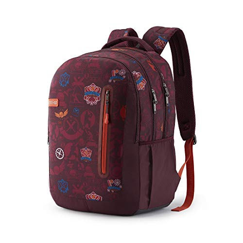 Best college bags for girl in flipkart in India 2020 American Tourister Trafford 34 Ltrs Red Casual Backpack (FR0 (0) 00 101) Image 2