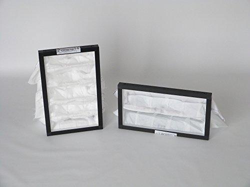 Set di 2 filtri di ricambio in struttura di plastica G4/F7 per Hoval Homevent RS 250 (ZAFS-250)
