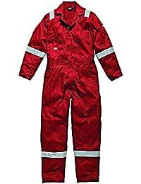 Dickies WD2279LW RD 4x l tamaño 4X -LARGE ligero, talla L, color rojo