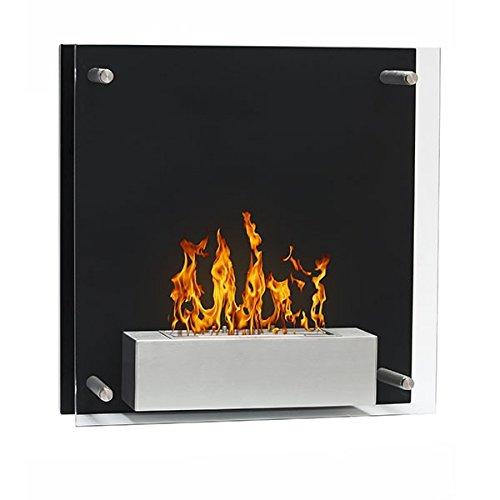 Squarebox-Chimenea-de-etanol-negro-estufa-ecolgico-pared