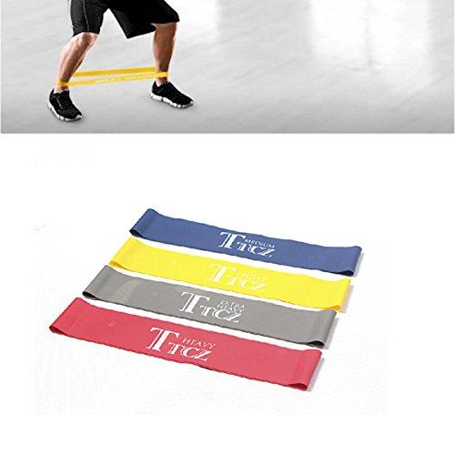 Bluelover fitness elastic belt resistenza bande resistenza allenamento pull ring