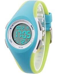 ETOWS - Relojes para niños (Impermeables, 50 m, cronógrafo Digital, para niños y niñas)