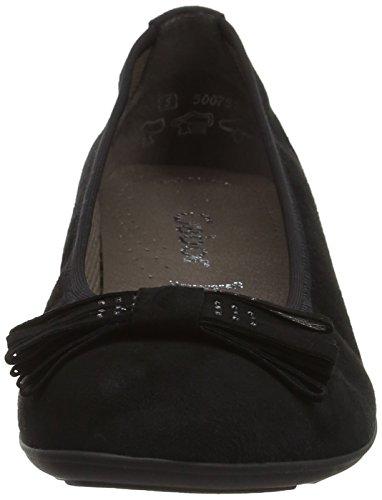 Gabor Shoes Fashion, Ballerine Donna Nero (schwarz 17)