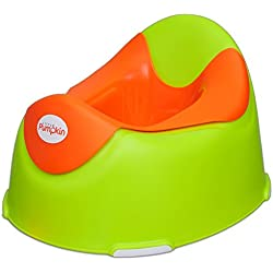 Little Pumpkin Kiddie Kingdom Potty Seat (Green Orange)