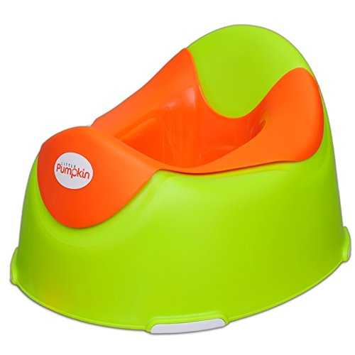Little Pumpkin - Kiddie Kingdom Potty Seat (Green Orange)