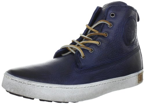 Blackstone - 6 Inch Worker On Foxing, Sneaker Uomo Blu (Blau (Indigo))